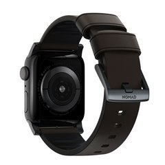 Nomad Active Pro correa piel Apple Watch 44/42 mm marrón/negro