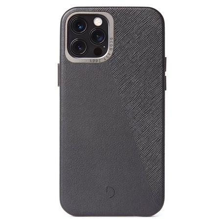 Decoded Split funda iPhone 12 / 12 Pro negro