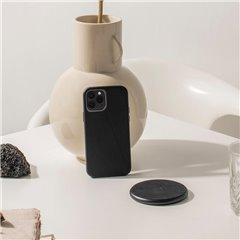 Decoded Split funda piel iPhone 12 / 12 Pro negro
