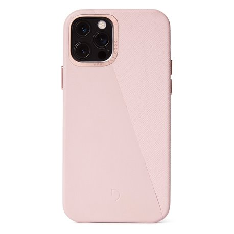 Decoded Split funda iPhone 12 / 12 Pro rosa