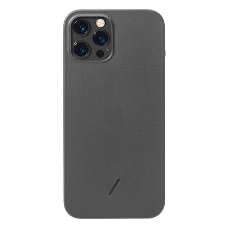 Native Union Clic Air funda delgada iPhone 12 / 12 Pro negro humo