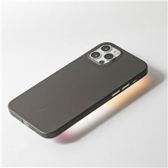 Native Union Clic Air funda delgada iPhone 12 / 12 Pro negro humo