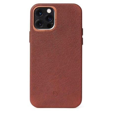Decoded funda piel iPhone 12 / 12 Pro marrón