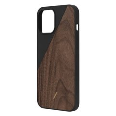 Native Union Clic Wooden funda madera iPhone 12 Pro Max negro