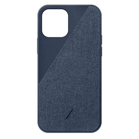 Native Union Clic Canvas funda iPhone 12 / 12 Pro azul indigo
