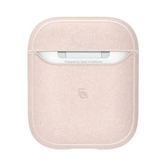 Funda Incase Metallic para Airpods 1 y 2 rosa