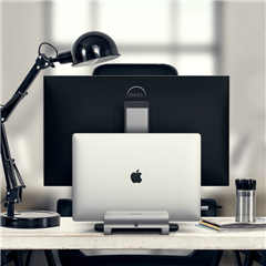 Satechi soporte aluminio MacBook gris plata