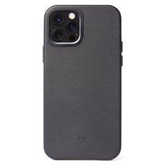 Decoded funda piel iPhone 12 Pro Max negro