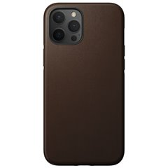 Nomad Rugged Case funda iPhone 12 Pro Max MagSafe marrón