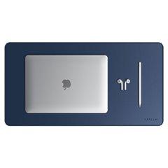 Satechi alfombrilla escritorio Deskmate Eco-leather azul