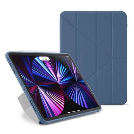 """Funda Pipetto Origami No1 iPad Pro 11"""" 3º Gen 2021 azul"""