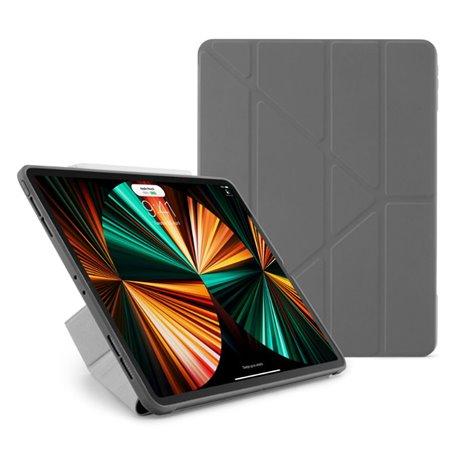 "Funda Pipetto Origami No1 iPad Pro 12,9"" 5ª Gen 2021 gris oscuro"