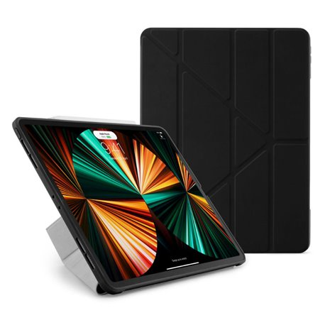"Funda Pipetto Origami No1 iPad Pro 12,9"" 5ª Gen 2021 negro"