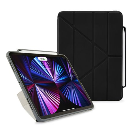 """Funda Pipetto Origami Pencil No3 iPad Pro 11"""" 3º Gen 2021 negra"""