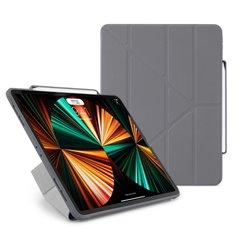 """Funda Pipetto Origami Pencil No3 iPad Pro 12,9"""" 5ª Gen 2021 gris oscuro"""