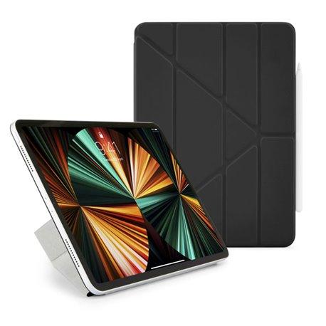 """Funda Pipetto Origami No4 Folio iPad Pro 12,9"""" 5ª Gen 2021 negra"""