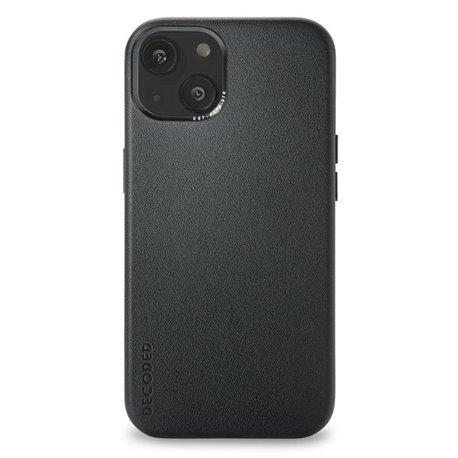 Decoded funda piel MagSafe iPhone 13 negro