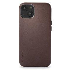Decoded funda piel MagSafe iPhone 13 marrón