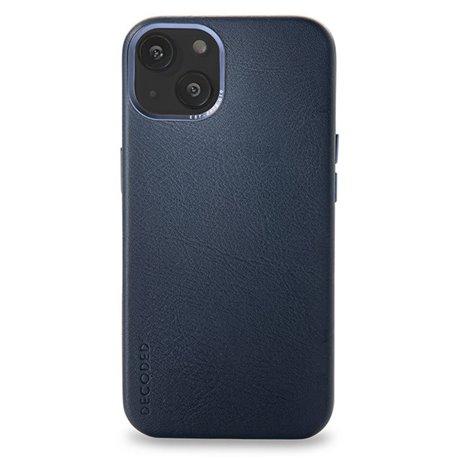 Decoded funda piel MagSafe iPhone 13 azul