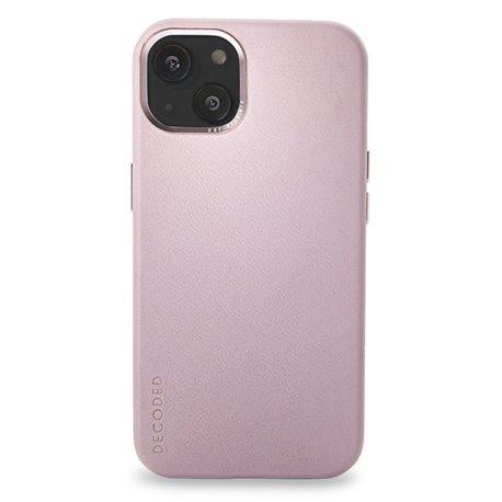 Decoded funda piel MagSafe iPhone 13 rosa