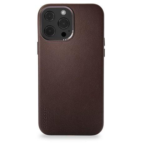 Decoded funda piel MagSafe iPhone 13 Pro marrón