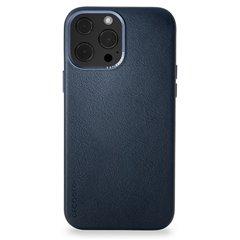 Decoded funda piel MagSafe iPhone 13 Pro azul
