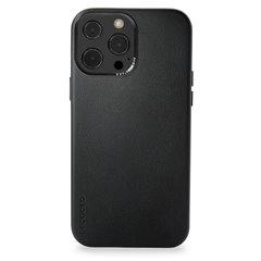 Decoded funda piel MagSafe iPhone 13 Pro Max negro