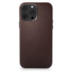 Decoded funda piel MagSafe iPhone 13 Pro Max marrón