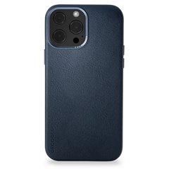 Decoded funda piel MagSafe iPhone 13 Pro Max azul