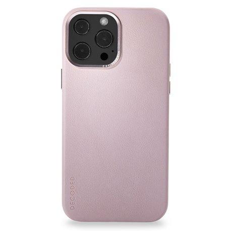 Decoded funda piel MagSafe iPhone 13 Pro Max rosa