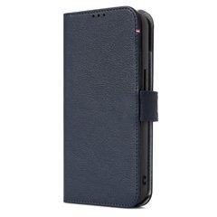 Decoded funda piel MagSafe con billetera iPhone 13 Pro azul