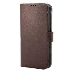 Decoded funda piel MagSafe con billetera iPhone 13 Pro marrón