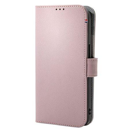 Decoded funda piel MagSafe con billetera iPhone 13 rosa
