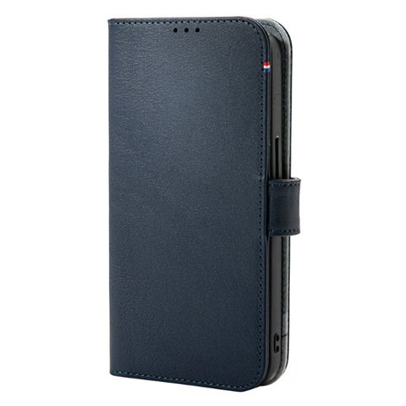 Decoded funda piel MagSafe con billetera iPhone 13 azul