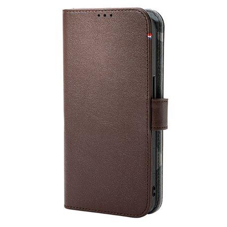 Decoded funda piel MagSafe con billetera iPhone 13 marron