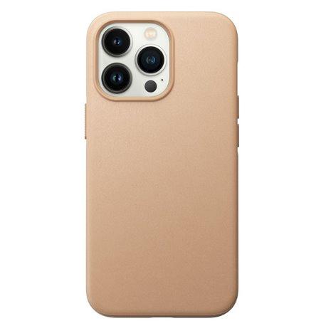 Nomad Modern Case funda piel iPhone 13 Pro MagSafe beige natural