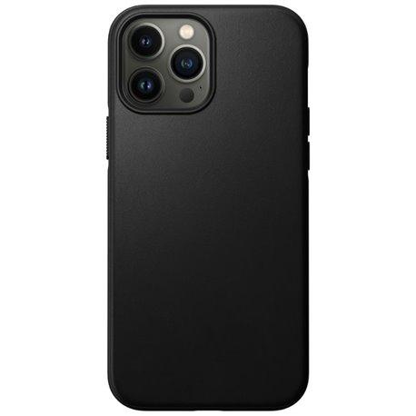 Nomad Modern Case funda piel iPhone 13 Pro Max MagSafe negro