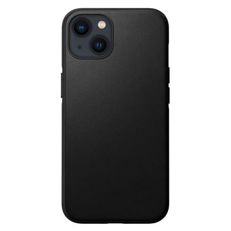 Nomad Modern Case funda piel iPhone 13 MagSafe negro
