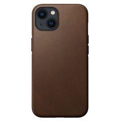 Nomad Modern Case funda piel iPhone 13 MagSafe marrón