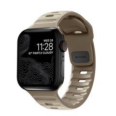 Nomad Sport V2 correa deportiva Apple Watch 42/44/45 mm beige duna