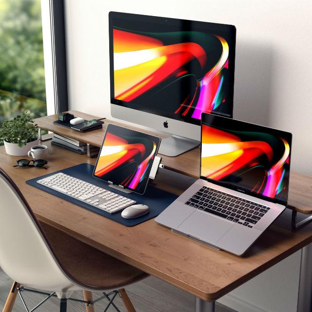 Soporte Satechi iPad y MacBook en aluminio