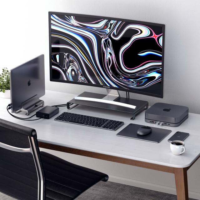 Soporte Satechi para MacBook y portátiles en aluminio anodizado