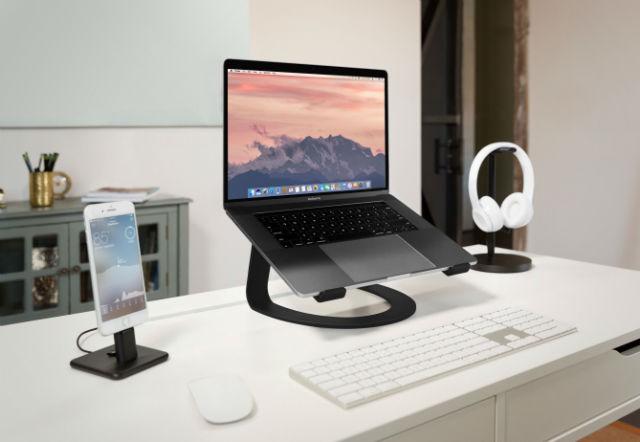 Twelve South Curve soporte para MacBook negro