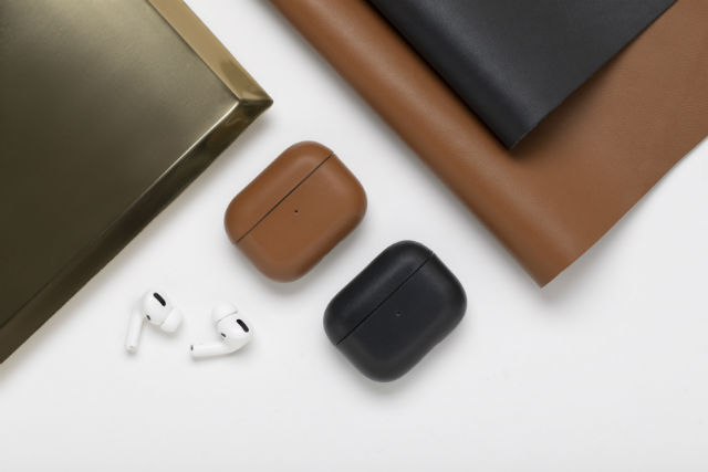 Funda de piel auténtica italiana Native Union para AirPods Pro de Apple