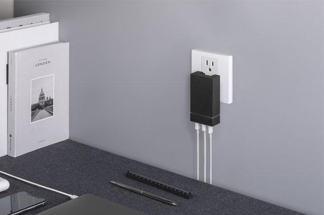 Cargador pared Native Union multipuerto USB-C con Power Delivery