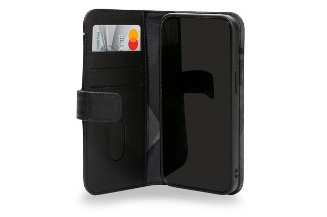 Decoded iPhone 13 Pro funda piel con billetera desmontable