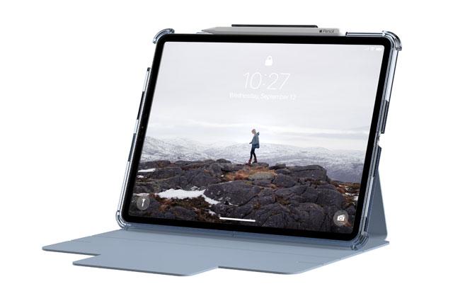 """Funda UAG Lucent iPad Pro 12,9"""" 5ª Gen 2021 color azul celeste"""