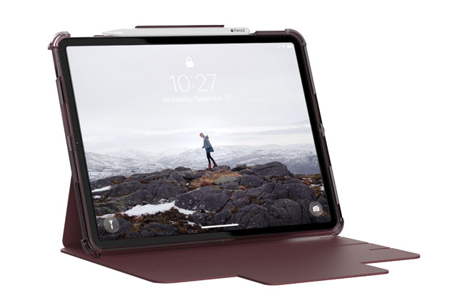 """Funda UAG LucentiPad Pro 12,9"""" 5ª Gen 2021 color berenjena"""