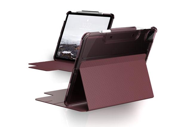 """Funda UAG Lucent iPad Pro 12,9"""" 5ª Gen 2021 color berenjena"""