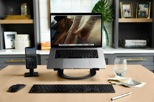 Twelve South Curve soporte MacBook negro mate